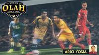 Kolom Ario Yosia 4 Pemain di Liga 1 Indonesia 2018 (Bola.com/Adreanus Titus)