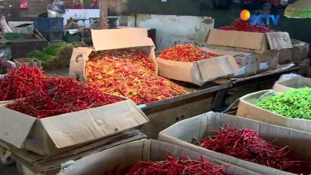 Wakil Gubernur DKI Jakarta Sandiaga Uno pastikan pasokan makanan menjelang Ramadan aman dan optimal.