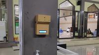 Unit iThermowall di Masjid Al Marjan Cipayung Depok  (Dokumentasi UI)