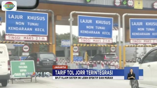 Sistem integrasi transaksi Tol JORR akan berlaku akhir September ini.