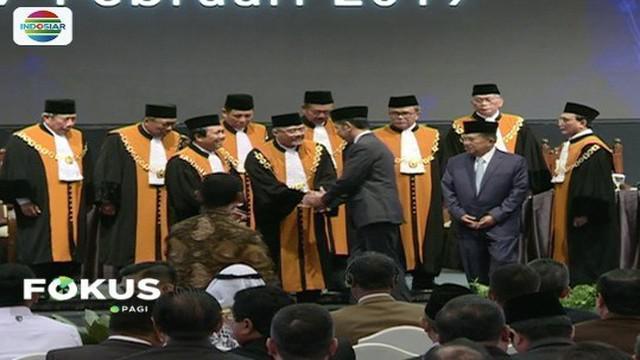 Dalam sidang pleno Mahkamah Agung dikatakan sistem peradilan di Indonesia telah berbasis teknologi informasi.