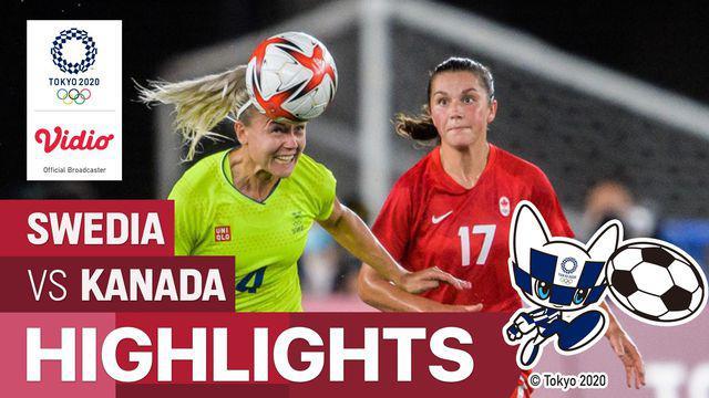 Berita video highlights kemenangan Timnas Kanada atas Timnas Swedia dalam laga final sepak bola putri Olimpiade Tokyo 2020, Jumat (6/8/2021) malam hari WIB.