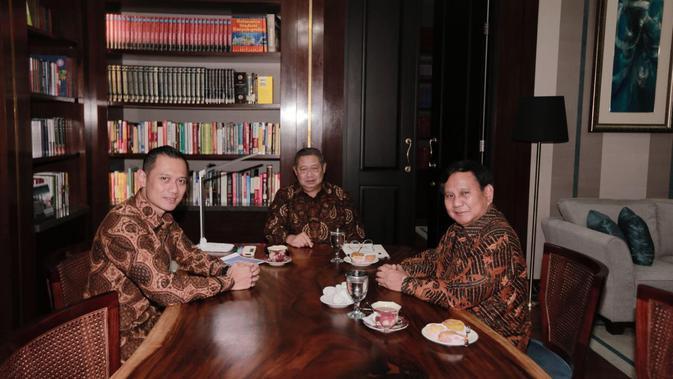 Temui Prabowo, AHY Akan Laporkan Strategi Rel Ganda Partai Demokrat