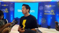 Gaery Udarsa, chief marketing officer & co founder tiket.com (Liputan6.com/Komarudin)