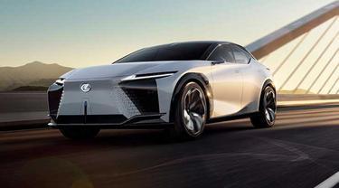 Lexus LF-Z Electrified cerminan mobil masa depan dari Lexus