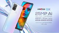 Advan GX, smartphone Rp 2 juta dengan dukungan kamera 48MP dan RAM 6GB (Foto: Advan).
