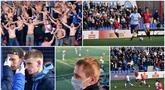 Liga Belarusia tetap berjalan seperti biasa meski di tengah wabah virus corona. Pertandingan tersebut juga tetap dihadiri para suporter yang menonton langsung dari tribun stadion