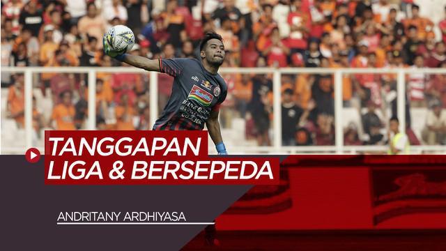 Berita Video Komentar Andritany Ardhiyasa Soal Tren Bersepeda dan Tanggapan Soal Liga Indonesia