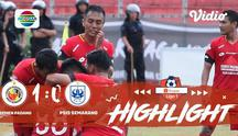 Laga lanjutan Shopee Liga 1, Semen Padang VS PSIS Semarang berakhir Dengan imbang 1-0 #shopeeliga1 #PSS Sleman #Persela Lamongan