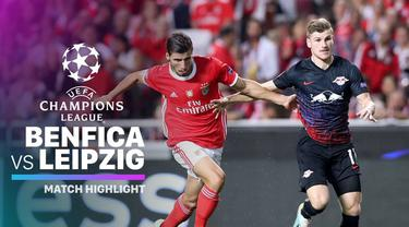 Berita video highlights Liga Champions 2019-2020 antara Benfica melawan RB Leipzig yang berakhir dengan skor 1-2, Selasa (17/9/2019).