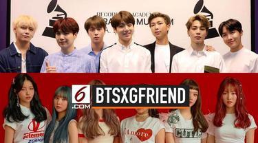 Agensi yang menaungi BTS, Big Hit Entertainment resmi mengakuisisi agensi Source Music yang menaungi grup GFriend. Apakah kedua grup vokal itu akan bergabung?
