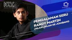 Lihat yuk keseruan Randy Martin saat berpelesir ke Jombang.