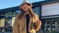 Gaya Glamor Bella Shofie (Sumber:  Instagram/bellashofie_rigan/)