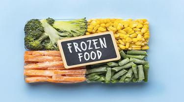Ilustrasi frozen foods