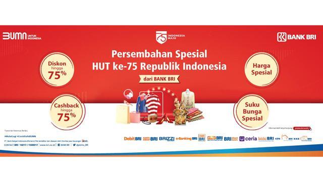 Persembahan Spesial HUT ke-75 Republik Indonesia dari Bank BRI