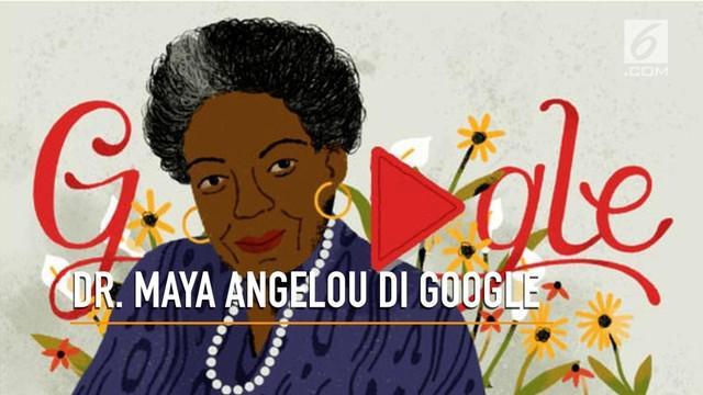 Hari ini, Rabu (21/3/2018), saat membuka laman pencarian Google akan terlihat sosok perempuan bernama Dr. Maya Angelou. Siapa dia?