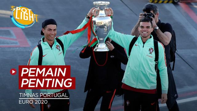 Berita video spotlight kali ini membahas tentang empat pemain penting Timnas Portugal di Euro 2021, salah satunya ialah Cristiano Ronaldo.