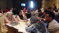 Workshop Program Shopee Muda Berdaya di Palembang. (Liputan6.com/Putu Elmira)