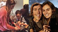 Orang asing sering mengira Hannah adalah suster pribadi Shane (sumber: instagram/shaneburcaw)