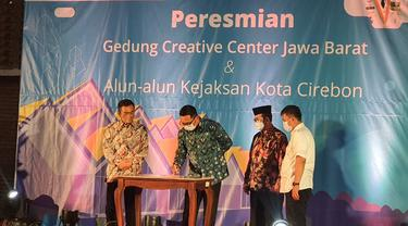 Gubernur Jabar Berharap Ruang Kreatif Ahmad Djuhara Bermanfaat untuk Lestarikan Pariwisata