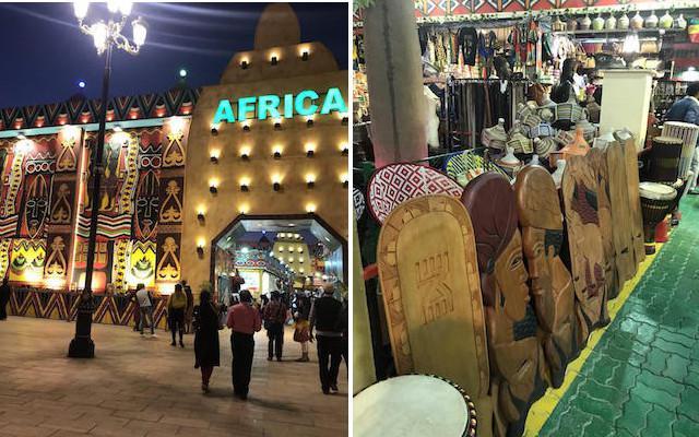 Africa Pavillion, Gloval Vilage Dubai