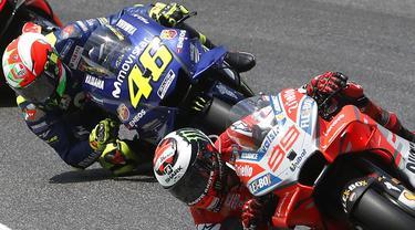 Jorge Lorenzo, Valentino Rossi, MotoGP