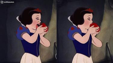 7 Ilustrasi Jika Para Karakter Disney Hidup di Masa Sekarang, Bikin Geleng Kepala