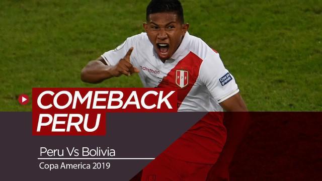 Berita Video Berita Video Highlights Copa America 2019, Peru Berhasil Comeback atas Bolivia 3-1