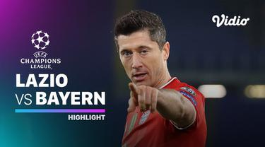 Berita video highlights Liga Champions, Bayern Munchen unggul atas tuan rumah Lazio dengan skor 4-1, Rabu (24/2/21)