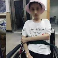 Menjalani diet ekstrem, perempuan ini kini beratnya hanya 25 kg dan mengalami kerusakan otak. (Sohu)