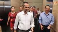 Abraham menegaskan bahwa korupsi di Banten adalah kejahatan keluarga, bukan pribadi. (Liputan6.com/Johan Tallo)