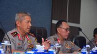 Kapolda Jateng Irjen Condro Kirono menyatakan sekitar 2.200 polisi bakal mengamankan Candi Borobudur selama tiga hari ke depan. (Liputan6.com/Felek Wahyu)
