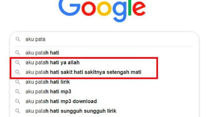 Pencarian Google Search