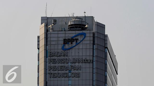 Gedung Badan Pengkajian dan Penerapan (BPPT). (Liputan6.com/Yoppy Renato)