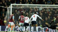 Proses gol penentu kemenangan Liverpool atas Aston Villa oleh Sadio Mane (Twitter)