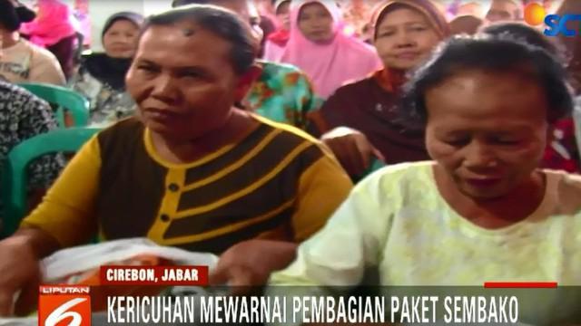 Sementara itu, Operasi pasar murah ini akan digelar pada sejumlah kawasan di Kabupaten Cirebon.