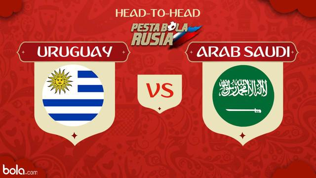 Berita video head-to-head Piala Dunia Rusia 2018: Uruguay vs Arab Saudi.