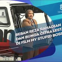 Ini tuntutan Reza Rahadian dan Bunga Citra Lestari di film My Stupid Boss 2.