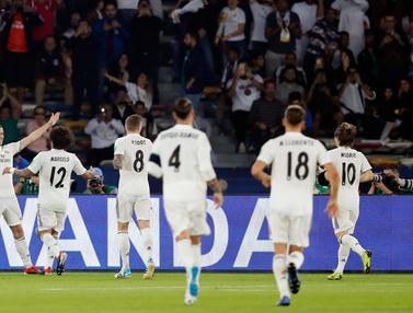 Real Madrid Melaju ke Final Piala Dunia Antarklub 2018
