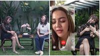 Jadi korban KDRT Alfath Fathier, Nadia Christina minta maaf ke Ratu Rizky Nabila. (Sumber: YouTube/MAIA ALELDUL TV)