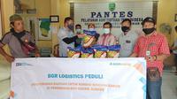 BGR Logistics salurkan bantuan untuk para korban bencana alam banjir di Subang