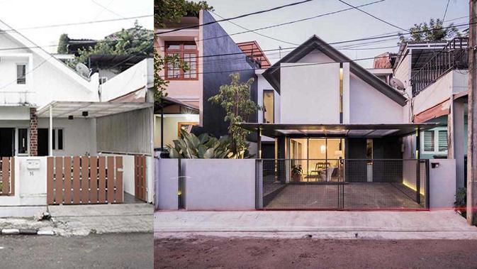 Inspirasi Renovasi Rumah Lawas Jadi Bergaya Modern Kece Badai Dengan Biaya Minimalis Lifestyle Liputan6 Com