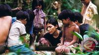 Orang Rimba atau Suku Anak Dalam. (www.antarabengkulu.com)