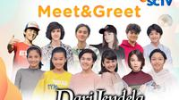 Dari Jendela SMP 3xtraOrdinary Meet & Greet secara virtual, Sabtu (13/2/2021) pukul 16.30 WIB live streaming di Vidio
