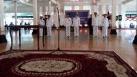 Pelantikan tiga kepala daerah oleh Sultan HB X.. (Liputan6.com/Fathi Mahmud)