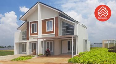 Perumahan Darmawangsa Residence di Bekasi dipasarkan mulai dari Rp580 juta per unit.
