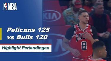 julius Randle muncul dari bangku cadangan untuk Pelikan dengan 31 poin ketika New Orleans mengalahkan Chicago 125-120. Lauri Markkanen mencatat 30 poin dan 10 rebound untuk Bulls saat kalah.