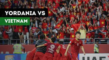 Berita video highlights 16 besar Piala Asia 2019 antara Yordania menghadapi Vietnam yang berakhir dengan skor 1-1. Vietnam melaju ke babak perempat final usai menang adu penalti 4-2.