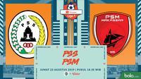 Shopee Liga 1 - PSS Sleman Vs PSM Makassar (Bola.com/Adreanus Titus)