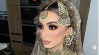 Adik Zayn Malik, Waliyha Malik, baru saja menggelar pernikahan yang berakhir dengan pembubaran polisi. (dok. Instagram @shama_malik/https://www.instagram.com/p/CItUt2oncuA/Dinny Mutiah)